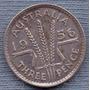 Australia 3 Pence 1956 Plata * Elizabeth Ii *