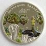 Islas Cook - Moneda 5 Dólares 2011 Cobra - Plata 925 / Color