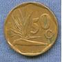 Sudafrica 50 Cents 1993 * Preciosa Planta De Hierbas *