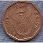 Sudafrica 10 Cent 2004 * Planta De Lirio * Escudo Nuevo *