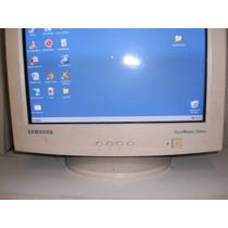 Monitor Crt Samsung Syncmaster 753dxf Pantalla Plana 17 Pulg