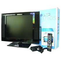 Monitor Lcd Led 19 Pulgadas Tv Full Hd 12v Y 220v Usb Vga