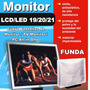 Funda Para Monitor Tv Lcd/led/all In One 19 /20