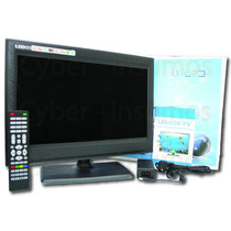 Monitor Lcd Led 22 Pulgadas Tv Full Hd 12v Y 220v Usb Vga