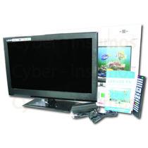 Monitor Lcd Led 24 Pulgadas Tv Full Hd 12v Y 220v Usb Vga