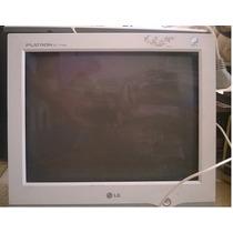 Monitor 15 Con Teclado Y Yapa