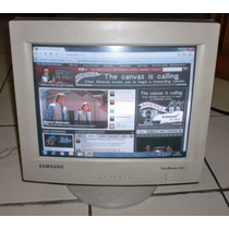 Monitor 15 Samsung Syncmaster 551v Impecable Oferta!