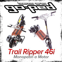 Monopatin A Motor Goped Gtr 46i Plegable Nafta Scooter 46 Cc