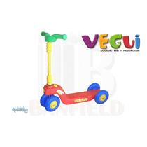 Monopatín Vegui Quickly Infantil 4 Ruedas Resistente Colores
