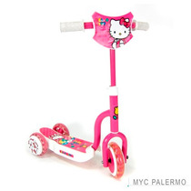 Scooter Infantil 3 Ruedas Hello Kitty Oficial