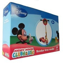 Scooter Monopatin Mickey Mouse -somos Los Juguetes-