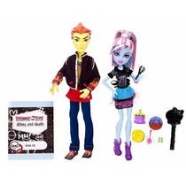Monster High Abbey Bominabe Y Heath Burns Home Ick-de Mattel