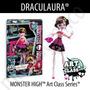 Monster High Draculaura Art Class