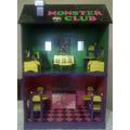 Monster High! Casa Club Sola, Hacemos Tmb Barbies Y Otros!