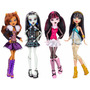 Muñecas Monster High Original Ghouls Collection 4 Modelos