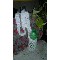 Morral Porta Botella En Crochet
