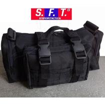 Bolso Complementario-waistpack Negro De Semper Fi Tactical®
