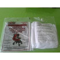 Mosquitero Red Para Cuna + Capota Protector De Cochecito Pvc