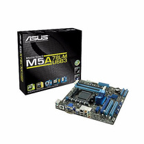 Mother Asus Am3+ M5a78l-m Usb3 Amd Cpu Fx 125w Ddr3 Belgrano