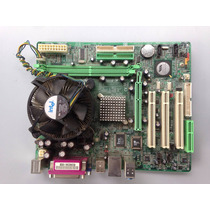 Mother Biostar P4m800pro-m7 V1.2 + Micro 3,2 Ghz + Cooler