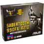 Motherboard Asus Sabertooth 990fx Am3 Esata Usb 3.0 Sata 3