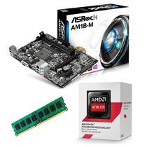 Combo Actualización Pc Amd Athlon 5150 X4 Am1 + Asrock + 4gb