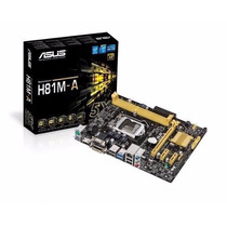 Motherboard Asus H81m-a Socket 1150 1600 Ddr3 Hdmi I3 I5 I7