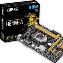 Motherboard Asus H81m-k Lga 1150 Dvi Lan Usb 3.0 Sata3 6gb/s
