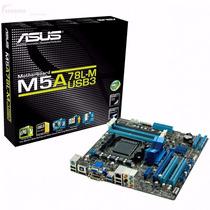 Rosario Motherboard Asus M5a78l-m Am3+ Usb 3.0 Pc Hdmi Dvi
