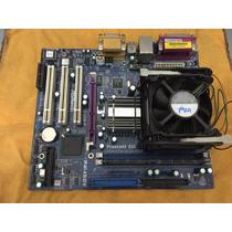 Motherboard Asrock P4i45gv + Celeron 2.0ghz + Memoria 512!