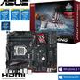 Mother Asus Z170 Pro Gaming Ddr4 1151 P/ I5 I7 Skylake 6600k