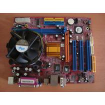 Biostar P4m800-m7 A + Intel Pentium 4 2.66ghz (c/detalle)