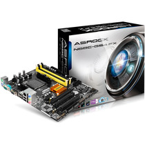 Mother Asrock N68c-gs4 Fx Am2 Am3 Ddr2 Ddr3 Cpu Amd Ide Com