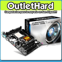 Mother Asrock N68-gs4 Fx Am3+ Ddr3 San Miguel Outlethard