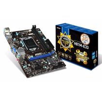 Mother Msi H81m-e33 Intel 1150 Usb 3.0 Hdmi Sata 3