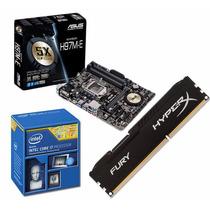 7625 Combo Actualizacion Pc Intel I7 4790 + Asus H97 + 8gb