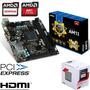 Combo Actualización Pc Amd Quad Core Am1+ Asus Mini Itx Hdmi