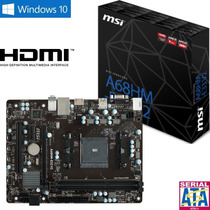 Mother Msi Fm2 A68hm-e33 C/ Hdmi Amd Apu A68 Mejor Q A55 A58