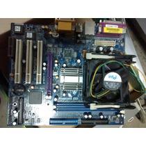 Mother Asus P4i45gv + Celeron D 2.4 Ghz, A Revisar!!!