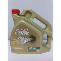 Aceite Castrol Edge 10w60 Made In Italy 4lt Sintético