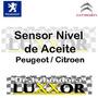 Sensor De Nivel De Aceite Peugeot / Citroen 100% Original