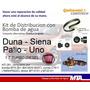 Kit Distribucion + Bomba Duna Palio Siena Fiorino 1.7 Turbo
