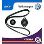 Skf Kit Poly V 1.9d Polo Golf Seat (tensor + Correa + Polea)