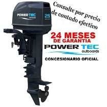 Motor Powertec 25 2t Pata Corta