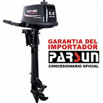 Motor Fuera De Borda Parsun 5,8 Hp 2 T Nuevo En Caja !!!