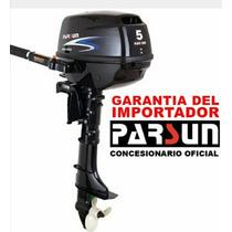 Motor Fuera De Borda Parsun 5 Hp 4 T Nuevo En Caja !!!