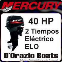 Motores Mercury 40 Hp 2t Eléctrico Automix Dorazio Boats