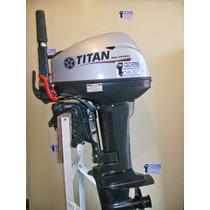 Fuera De Borda Titan 18 Hp 2t + Potent Yamaha Powertec Hidea