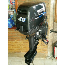 Suzuki 40 Hp 2t Arranque Electrico