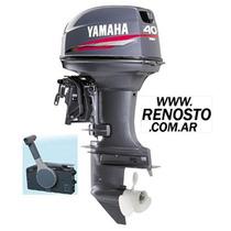 Motores Yamaha 40hp Arranque Eléctrico Pata Corta - Renosto